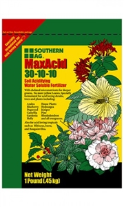 MaxAcid 30-10-10 Acidifying Fertilizer - 1 Lb.