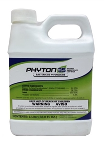 Phyton 35 Bactericide Fungicide - 1 Liter