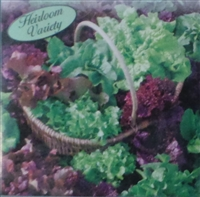 Lettuce Reds and Greens Loose Leaf Mix Seed Heirloom - 1 Packet