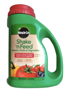 Miracle Gro Shake N Feed Tomato Fruits and Vegetables - 4.5 Lbs.