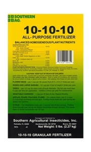 All Purpose Fertilizer 10-10-10 - 5 Lbs.