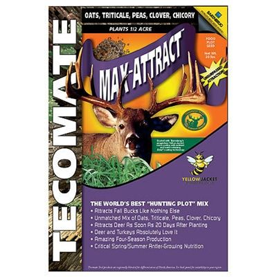 Tecomate Max-Attract Food Plot - 40 Lbs.