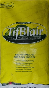 Tifblair Centipede Grass Seed (Certified) - 25 Lbs.