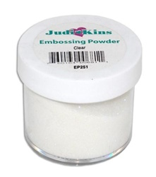 Embossing Powder Clear Detail .5 OZ by Judikins