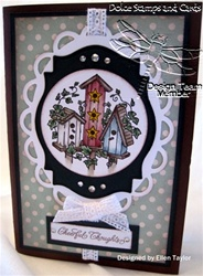 JustRite Birdhouse Notebook Card