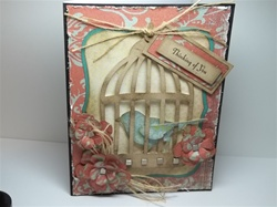 Caged Bird Card