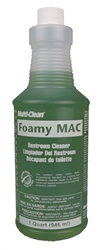 Foamy Mac Restroom Cleaner (12QTS./CS)