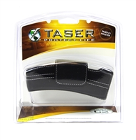 Taser C2 and Bolt Black Leather Case