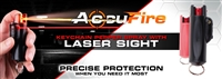 Accufire Keychain LASER Pepper Spray (Black)