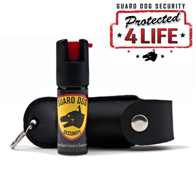 Soft Case Pepper Spray (Black)