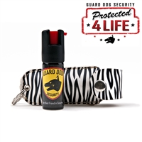 Soft Case Pepper Spray (Zebra)