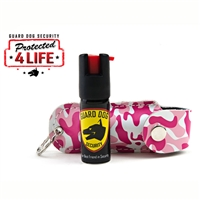 Soft Case Pepper Spray (Pink Camo)