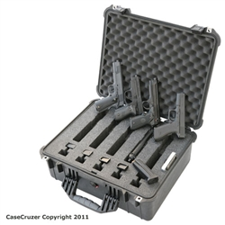 Universal Handgun 5 Pack Carrying Case