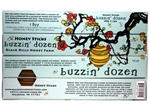 Buzzin' Dozen Honey Stick, Pure Sweet Clover | Black Hills Honey