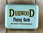 Deadwood Playing Cards w/ Tin