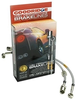 Goodridge Front and Rear Stainless Steel Braided Brake Lines