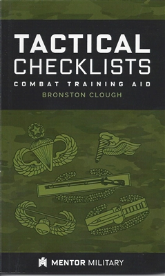 Tactical Checklists: Combat Training Aid - Mentor Military