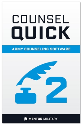 Counsel Quick: Volume 2 - Software for Army Developmental Counseling