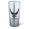 U.S.Air Force Laser Engraved Stainless Steel Tumbler