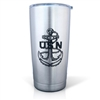 U.S.Navy Laser Engraved Stainless Steel Tumbler