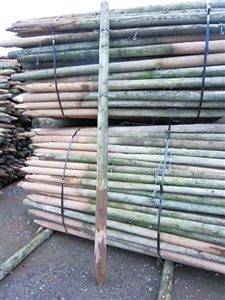 7ft Used Wood Fence Posts