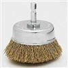 3  CRIMPED WIRE CUP BRUSH V/A