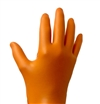 DIAMOND ORG NITRILE GLOVE LRGE