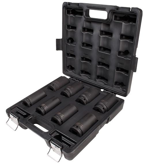 "Sunex Tools 3//4/"" Drive 8 Piece SAE Deep Impact Socket Set 4681"