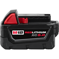 MLW M18 LITHIUM 5.0AH BATTERY
