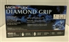 DIAMOND GRIP LATEX GLOVE MED