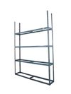 MARTINS 4 TIER SHELVING 92x120