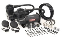 Viair Black 380 Dual Combo Pack
