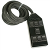 7 Switch Rocker Black