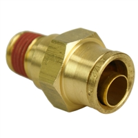 "1/2"" Hose 1/4"" NPT Straight Push-to-Connect"