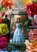 Disney Alice's Adventures in Wonderland 3D Lenticular Greeting Card