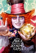 Disney Alice Through the Looking Glass Mad Hatter 3D Lenticular Card