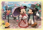 Disney Mickey & Minnie Celebration 3D Lenticular Greeting Card