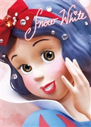 Disney Princess Snow White Close-up Series 3D Lenticular Card