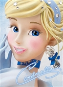 Disney Princess Cinderella Close-up Series 3D Lenticular Card
