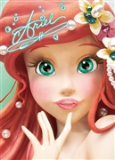 Disney Princess Ariel Close-up Series 3D Lenticular Card