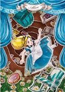 Disney Alice Paper Theater 3D Lenticular Card