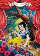 Disney Princess Snow White Paper Theater 3D Lenticular Card