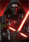 STAR WARS The Attack of Kylo Ren 3D Lenticular Card
