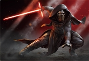 STAR WARS Kylo Ren in the Dark 3D Lenticular Card