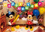 Disney New Year Party 3D Lenticular Greeting Card