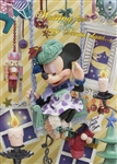 Disney Minnie Holy Night Bell 3D Lenticular Greeting Card