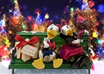 Disney Donald Christmas 3D Lenticular Greeting Card