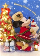Disney Minnie Christmas wishes 3D Lenticular Greeting Card