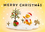 Disney Winnie the Pooh Christmas Story 3D Lenticular Greeting Card