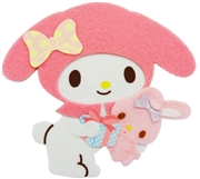 My Melody Happy Birthday Soft and Fluffy Greeting Card
